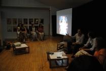Livespeaking protagonizado por el pintor hiperrealista Luis Pérez y el pintor abstracto Jorge Pedraza.