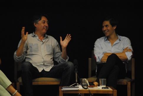 Jorge Pedraza (izquierda) y Luis Pérez (derecha).)